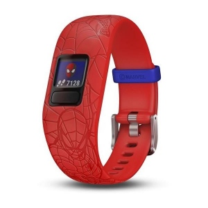 Garmin Vivofit jr. 2 Marvel (Spider-Man, Rosu)