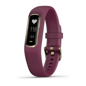 Garmin Vivosmart 4 (Small/Medium Rose Gold with Berry Band)