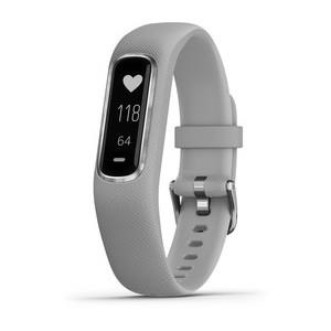 Garmin Vivosmart 4 (Small/Medium Silver with Gray Band)