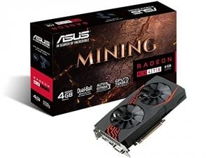 Placa Video ASUS AMD MINING-RX470-4G-LED, 4GB GDDR5, 256bit