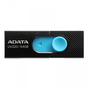 Memorie USB Adata UV220 64GB USB 2.0 BLACK/BLUE