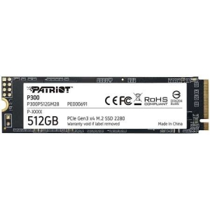 SSD Patriot P300 512GB PCIe M.2 2280