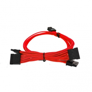 EVGA 100-G2-13RR-B9 EVGA Red Power Supply Cable Set 1000-1300 G2/P2/T2