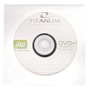 DVD+R TITANUM [ envelope 1 | 4.7GB | 8x ] - carton 500pcs