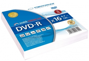 DVD-R ESPERANZA [ envelope 10 | 4.7GB | 16x ]