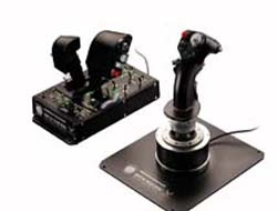 THRUSTMASTER Hotas Warthog Joystick U.S. Air Force A-10C attack aircraft HOTAS