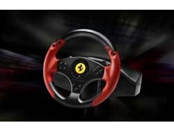 THRUSTMASTER PlayStation3 PC Red Legend Edition Ferrari Racing Wheel