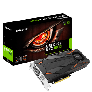 Placa Video Gigabyte Nvidia GeForce GTX 1080 Turbo OC 8G GDDR5X