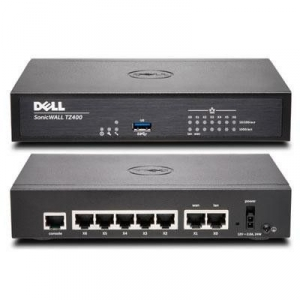 Router SonicWall TZ400 Total Secure 1Y 10/100/1000 Mbps