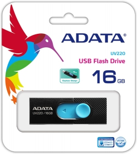 Memorie USB Adata UV220 16GB Black