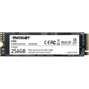 SSD Patriot P300 256GB PCIe M.2 2280
