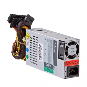 Sursa Server Akyga 1U mini ITX / Flex ATX 200W AK-I1-200 P4 PFC FAN 3xSATA