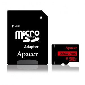 Card De Memorie Apacer Micro SDHC 32GB Class 10 UHS-I (up to 85MB/s) +adapter