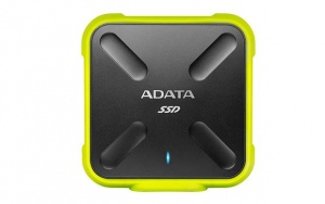 Adata SSD SD700 512GB, 440/430MB/s, USB3.1, yellow