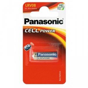 Panasonic Micro Alkaline battery LRV08/A23, 1 Pc, Blister