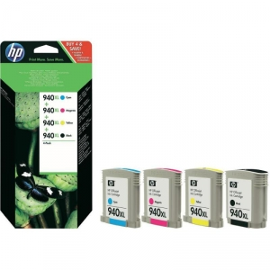 Set Cartuse HP 940XL C2N93AE Black,Cyan,Magenta,Yellow