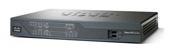 Router Cisco 892FSP 10/100/1000 Mbps