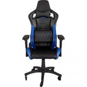 Corsair Gaming Chair T1 RACE, High Back Desk and Office Chair, Black/Blue