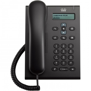 Cisco Unified SIP Phone 3905, Charcoal, Standard Handset SIP  | 10/100  | nu contine sursa - se alimenteza prin switch PoE sau sursa optionala  |  | CP-3905=  | da,monocrom  |  | Cisco  | DA  |  |  | DA