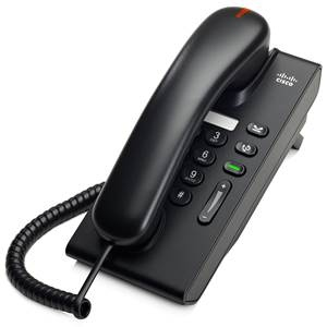 Cisco Unified IP Phone 6901 Slimline - VoIP phone  | DHCP , Static, 1 x Ethernet 10Base-T/100Base-TX | Table-top , Wall-mountable  | CP-6901-CL-K9=