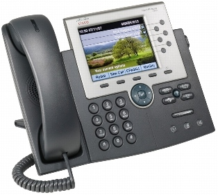 Cisco UC Phone 7965, Gig Ethernet, Color, spare