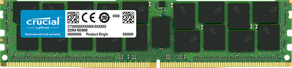 Memorie Server Crucial 16GB DDR4 2666 MT/s (PC4-21300) CL19 DR x4  ECC Reg 288pin - after tests