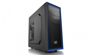Carcasa Deepcool ATX Chassis TESSERACT BF, 1x120mm pre-installed blue fan