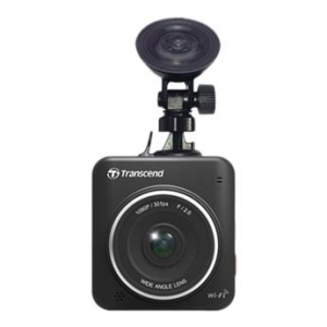 Transcend DrivePro 200 Wi-Fi Ready Dash Cam with 16GB Card Included - Capture Full HD 1080p30 Video