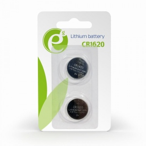 Energenie Button cell CR1620, 2-pack, blister