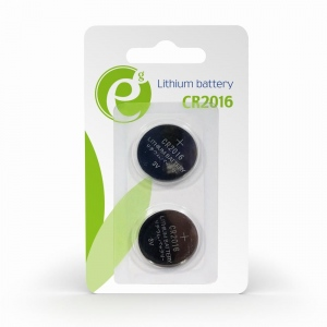 Energenie Button cell CR2016, 2-pack, blister