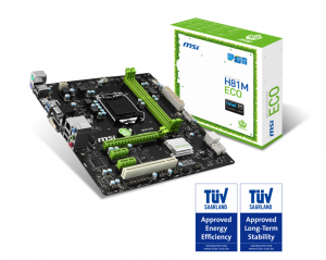 Placa de Baza MSI H81M ECO