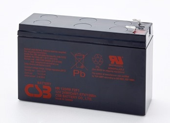 Acumulator UPS CSB rechargeable battery HR 1224W 12V 24W