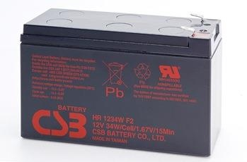 Acumulator UPS CSB kit 2 rechargeable batteries HR1234W F2 12V/9Ah