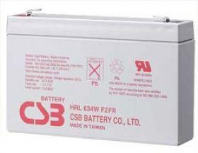 Acumulator UPS CSB rechargeable battery HRL634W 6V/9Ah 34W