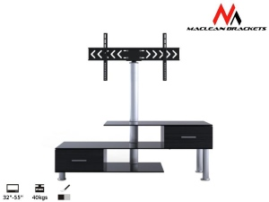 Maclean MC-558 RTV table with the handle to the TV 32-50-- 50kg TV Stand