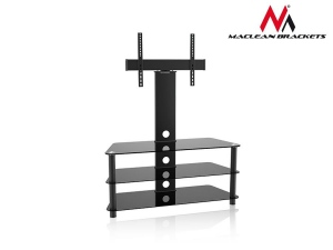 Maclean MC-641 RTV table with the handle to the TV 32-55-- 40kg TV Stand