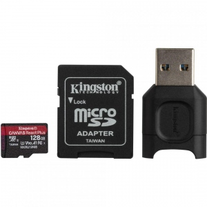 Card Reader Kingston SDXC + SDR2 128GB, Black