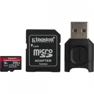 Card Reader Kingston SDXC + SDR2 256GB, Black