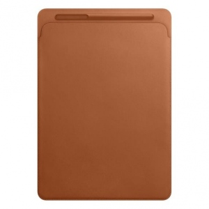 Apple iPad Pro Leather Sleeve for 12,9-- Saddle Brown