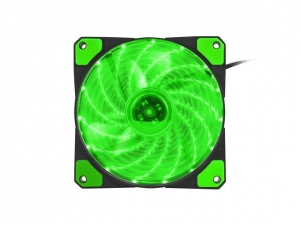 Cooler Genesis Fan CPU HYDRION 120 GREEN; LED; 120MM