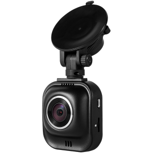 Car Video Recorder PRESTIGIO RoadRunner 585 (SHD 2304x1296@30fps, 2.0 inch screen, Ambarella A7L50, 4 MP CMOS OV4689 image sensor, 16 MP camera, 160° Viewing Angle, Micro USB, HD-port, 180 mAh, Automatic Night Mode, Motion Detection, G-sensor, Cycli