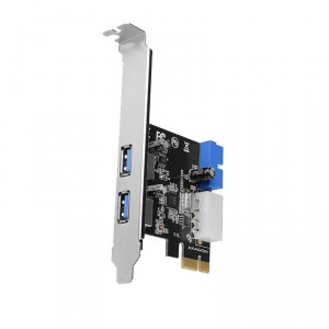 PCI-Express Adapter PCEU-232VL, 2+2 USB3.2 gen1 + LP