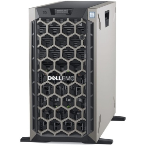 Server Tower Dell PowerEdge T440 Tower Server,Intel Xeon Silver 4214 2.2G (12C/24T),32GB(1x32GB 2666 MT/s RDIMM,2x600GB 10K RPM SAS(up to 8, 3.5