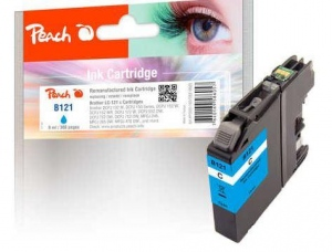 Ink PEACH PI500-160 Brother LC-121| cyan