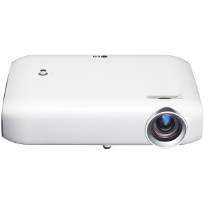 Projector LG PW1000G LED, WVGA (1280x800), 1000 lumens, 100.000:1, Lamp life 30000 hours, HDMI, RGB, composite, USB, Remote control (Card type), Built-in battery, White