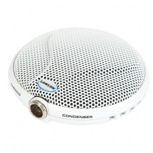SAMSON CM10B white Boundary/Conference Microphone | 9m cable