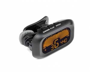 SAMSON CT16 Clip-On Tuner |guitars, basses, stringed, woodwind, brass instrument
