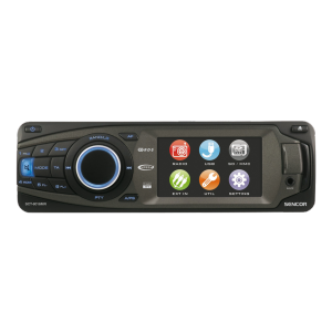 Car radio with touch screen Sencor SCT 8016 MR