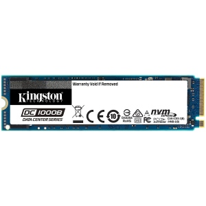 KINGSTON DC1000B 480GB Enterprise SSD, M.2 2280, PCIe NVMe Gen3 x4, Read/Write: 3200 / 565 MB/s, Random Read/Write IOPS 205K/20K