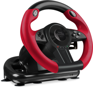 SPEEDLINK TRAILBLAZER RACING WHEEL for PS4/PS3/PC black